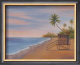 Tropical Beach II Art by Vivien Rhyan