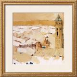 Peaceful Village I Prints by Jesus Barranco