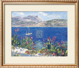 Villefranche Bay Poster by T. Forgione