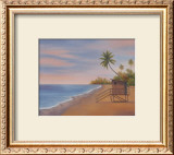 Tropical Beach II Prints by Vivien Rhyan