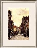 Busy Street at the Hague Netherlands Prints by Floris Arntzenius