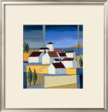 Village Near The Sea II Prints by Hans Paus