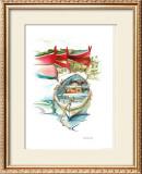 Porto Mediterranio II Poster by Daniela Lecchi