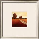 Scarlet Landscape I Art by Hans Paus