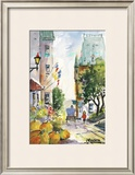 Rue St-Louis Prints by Jean-roch Labrie