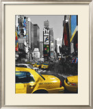 Rush Hour on Broadway Art by Henri Silberman
