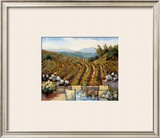 Vineyards to Mount St. Helena Poster by Ellie Freudenstein