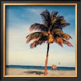 Maimi Beach Print by Joe Gemignani