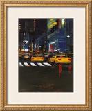 Cab's Race Print by Daniel Castan