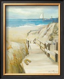 Coastal Escape Art by Marilyn Hageman