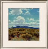 Through the Chamisa, Santa Fe Opera, 1989 Prints by E. Martin Hennings