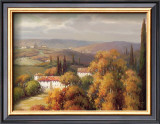 Tuscan Panorama Print by Vail Oxley
