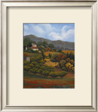 Italian Countryside I Poster by Vivien Rhyan