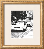 New York Minute II Print by Boyce Watt