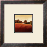 Scarlet Landscape IV Posters by Hans Paus