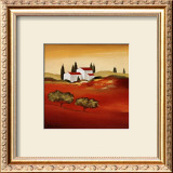 Tuscan Red IV Prints by Hans Paus