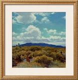 Through the Chamisa, Santa Fe Opera, 1989 Art by E. Martin Hennings