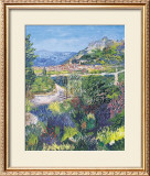 Village of St. Agnes Print by T. Forgione
