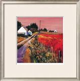 Farm Tracks Limited Edition Framed Print by Davy Brown