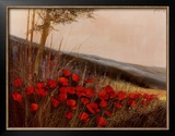 Field of Poppies Posters by G. Michaud