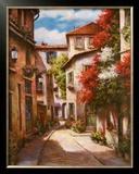 Mediterranean Villa II Art by T. C. Chiu
