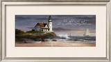 Lighthouse: Dusk Prints by T. C. Chiu
