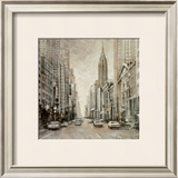 To the Chrysler Building Prints by Matthew Daniels