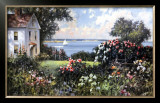 New England Garden Prints by Paul Landry