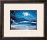 Moonlight Tide Framed Giclee Print by Steve Sundram