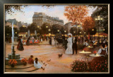 Parisian Promenade Art by Christa Kieffer