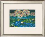 Flowered River, 1974 Prints by Janine Faure-Terrieu