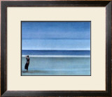 On a Solitary Beach II Prints by M. Bineton