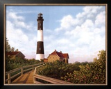 West Channel Lighthouse Posters by Daniel Pollera