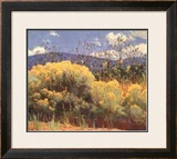 Chamisa In Bloom Print by E. Martin Hennings