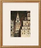 Manhattan Aglow Print by Paulo Romero
