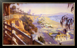 Pacific Coast Highway II Prints by John Comer