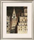 Manhattan Aglow Posters by Paulo Romero