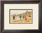 Une Partie de Croquet Print by Laurence David