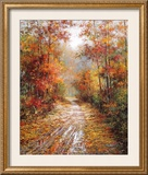 Autumn Trail Prints by Tan Chun