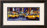 Yellow Cabs, New York City Prints by Roy Avis