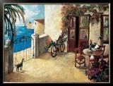 Perro y Bicicleta Art by Didier Lourenco
