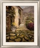 Sunlit Villa II Print by Allayn Stevens