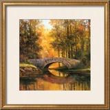 Stone Bridge Prints by T. C. Chiu