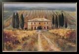 Toscan Vigna Print by Marilyn Hageman