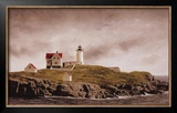 Nubble Light Posters by Douglas Brega