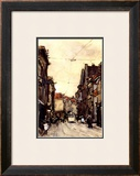 Busy Street at the Hague Netherlands Poster by Floris Arntzenius