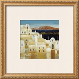 Oia Prints by F. Dot