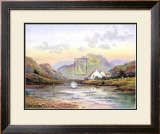Fishing at Dawn Prints by Wendy Reeves