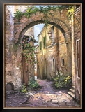 Cobbled Streets, St.Remy Prints by Roger Duvall