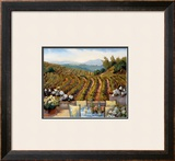 Vineyards to Mount St. Helena Art by Ellie Freudenstein